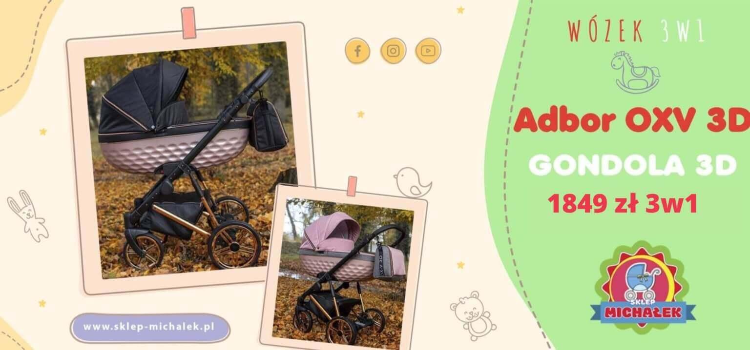 Adbor OXV 3d gondola 3d
